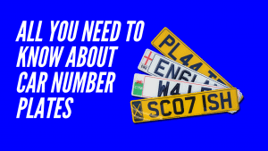 all you need to know about car number plates