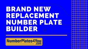 new replacement number plate builder