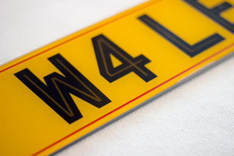 Highline Number plates