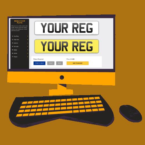 Registration Plate builder
